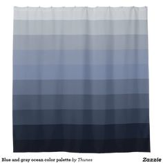 1000 Ideas About Blue Shower Curtains On Pinterest