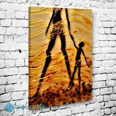 African Woman Tablo I #dekoratif_kanvas_tablo
