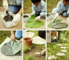 How cool and creative is this little garden project for hands-on-kids!