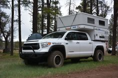 Check out Cris' cool Toyota Tundra overland build on our blog.