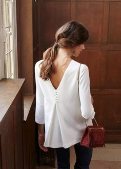 Collection Automne / Moodboard 1 - The Walk Blouse Brendan … - Mode Outfits, Fashion Outfits, Womens Fashion, Latest Fashion, Fashion Clothes, Casual Outfits, Fashion Trends, Feminine Mode, Mode Top