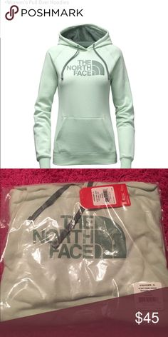 NWT THE NORTH FACE women's XL hoodie NWT women's XL north face hoodie, comes sealed in packaging never taken out. Very nice sea green color. Hard to find in larger sizes   Victoria Secret, PINK, Bke, Rock revivals, miss me, true religion, express, buckle, affliction, sinful check out my closet! Ugg Australia. The North face. Also available on ♏️ and 🅿️🅿️ The North Face Tops Sweatshirts & Hoodies