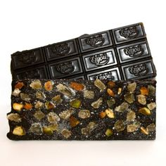 Delicious dark chocolate Bar with Pistachio and Ginger.