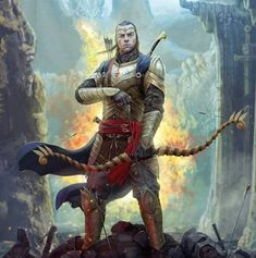 Elrond! Yes! Oh yes. He's always seen as just a scholar but I know there is a warrior in there too.