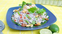 Fresh Salad with Glass Noodles (Yum Woon Sen) | Asian Food Channel