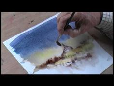 Rescuing Watercolours with David Bellamy