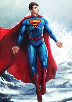 #Superman #Fan #Art. (Superman) By: MeTaa. ÅWESOMENESS!!! [THANK U 4 PINNING!!]