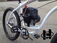 Honda Powered Bicycle