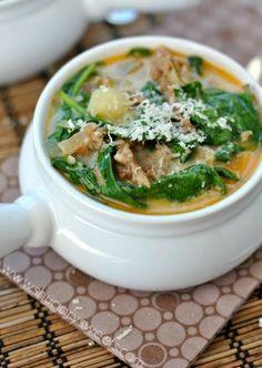 Zuppa Tuscana Soup. Olive Garden ...