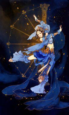 Môn phái: Thất Tú - Game: VLTK 3D - Minh họa: Ibuki Satsuki