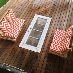 Pallet outdoor sofas