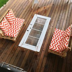 Pallet outdoor sofas