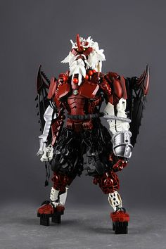 A demonic Bionicle straight from feudal Japan