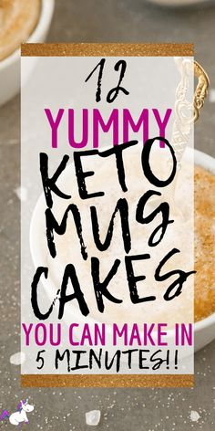 12 yummy keto mug cakes These keto mug cakes will help you stay in ketosis & satisfy your sweet tooth easily with recipes from keto cinnamon roll mug cake to keto vanilla mug cake! Low Sugar Cakes, Low Carb Mug Cakes, Keto Cake, Keto Cheesecake, Low Carb Sweets, Low Carb Desserts, Diabetic Desserts, Health Desserts, Ketogenic Recipes