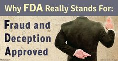 FDA reviews the safety and efficacy of new drugs, and unbiased reviews are needed, but a study published in the BMJ suggests conflicts of interest are rampant. http://articles.mercola.com/sites/articles/archive/2016/10/11/fda-big-pharma.aspx