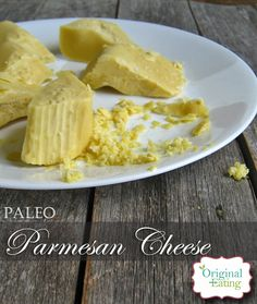 Learn how to make Vegan & Paleo Parmesan cheese in just a few minutes that will grate, curl, or cut into chunks here at Original Eating- CLICK to learn more