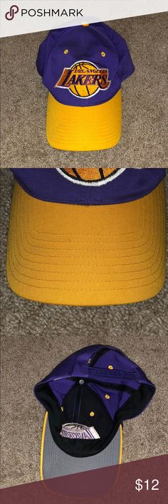 NBA Los Angeles Lakers Hat NBA Los Angeles Lakers Hat  One size fits most.   Please ask questions before purchasing. Accessories Hats