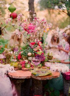 妖精の宴会