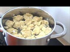 jedzonkoo: kluski kładzione Potato Salad, Cauliflower, Pierogi, Potatoes, Vegetables, Ethnic Recipes, Food, Youtube, Cauliflowers