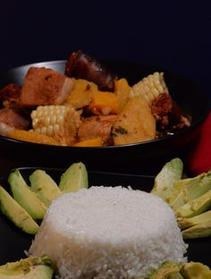 Sancocho Side Dishes learn about the culture and get the delicious recipes at http://www.internationalcuisine.cm it's free!
