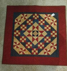 Heartspun Quilts Market Day Sew Along.  Pam Buda's blog.  Made by Mary Ann Caba