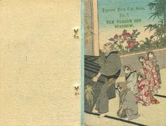 The Tongue Cut Sparrow, Japanese Fairy Tale Series No. 2, Hasegawa, Crepe Paper Book