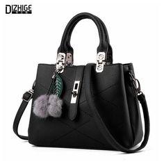 Famous Designer Women Leather Handbags Luxury Ladies Hand Bags Shoulder Sac