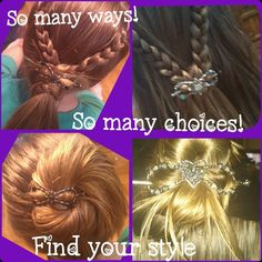 Lilla Rose hair accessories - So many ways you can style your hair with them, so many choices to fit your personality. Find yours today! http://lillarose.biz/rrobinson