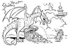 Efteling Dragon Coloring Page For Children 1 - Coloring Ideas Heart Coloring Pages, Dragon Coloring Page, Preschool Coloring Pages, Horse Coloring Pages, Princess Coloring Pages, Coloring Pages For Kids, Coloring Sheets, Adult Coloring, Coloring Books