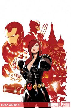 Black Widow #1//Daniel Acuña/A/ Comic Art Community GALLERY OF COMIC ART