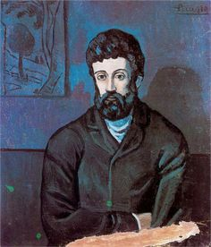 Man in blue - Pablo Picasso, c.1902