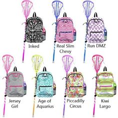 Scout's Big Draw Lacrosse Backpack A backpack designed for girl ...