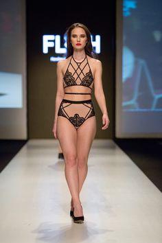Runway lingerie show