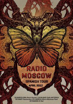 Radio Moscow Spanish Tour April 2012