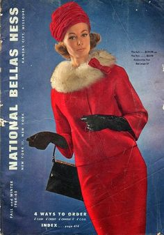 Winter Fashion By Decade 1960's