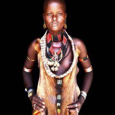 Southern Ethiopian woman.