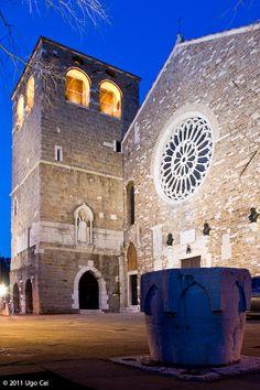 La cattedrale romanica di San Giusto