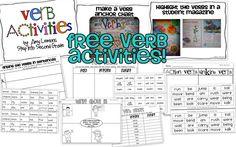 Verb Activities!