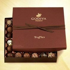 I only have 1-2 truffles a year but Godiva is the best in the world!