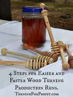 These four steps help you get organized for efficient and more productive wood turning.