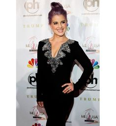 Kelly Osborne at the Ms. USA Pageant