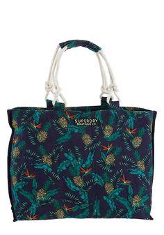 4348a3cae5f2a Superdry Shopper navy mischfarben  tasche  damentasche  bags  shopper