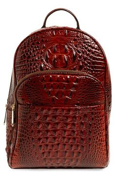 Brahmin 'Darmouth' Leather Backpack
