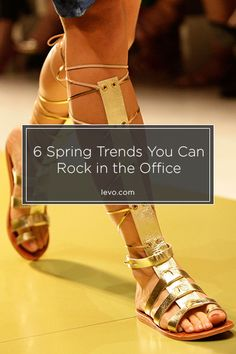 Five spring-to-summer trends and tips for how you can rock them at work. www.levo.com