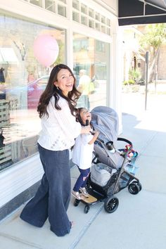Stepping Into Spring  Evenflo Sibby Travel System - Seven Graces Blog 60749bc52