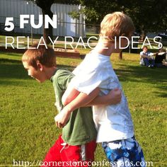 5 fun relay race ideas for your next youth or family gathering