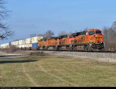 Lockport Illinois, Bnsf Railway, Trains, America, Train, Usa