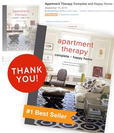 Complete + Happy Home is an Amazon #1 Best Seller!   Apartment Therapy