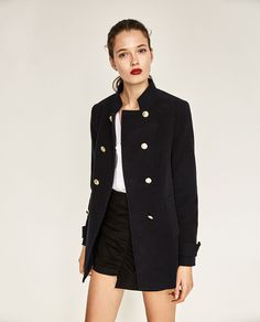 DOUBLE BREASTED FROCK COAT-View all-OUTERWEAR-WOMAN | ZARA United States