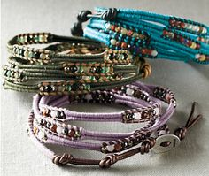 herringbone is one of my next projects: saw great how-to video on beadshop.com which also sells chinese knotting cord in delicious colors